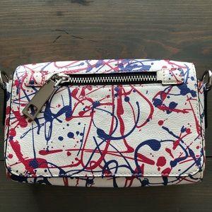 Marc Jacobs Splattered Paint Design Crossbody Bag